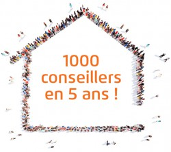 Picto maison +1000 conseillers HD